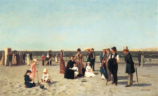 Samuel S. Carr 1837–1908 Source - http://bjws.blogspot.co.uk/search/label/Beach%20-%20Waterside